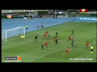 Македония - Беларусь 3:0. Обзор товарищеского матча (2017)