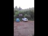 Раннее утро наш двор