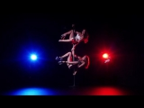 Pole Dance Exotic Daria Che and Melissa Dubstep school Fashion fitness