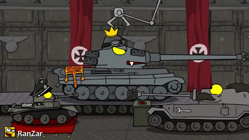 Танкомульт- Один Танк и Собака. Рандомные Зарисовки.