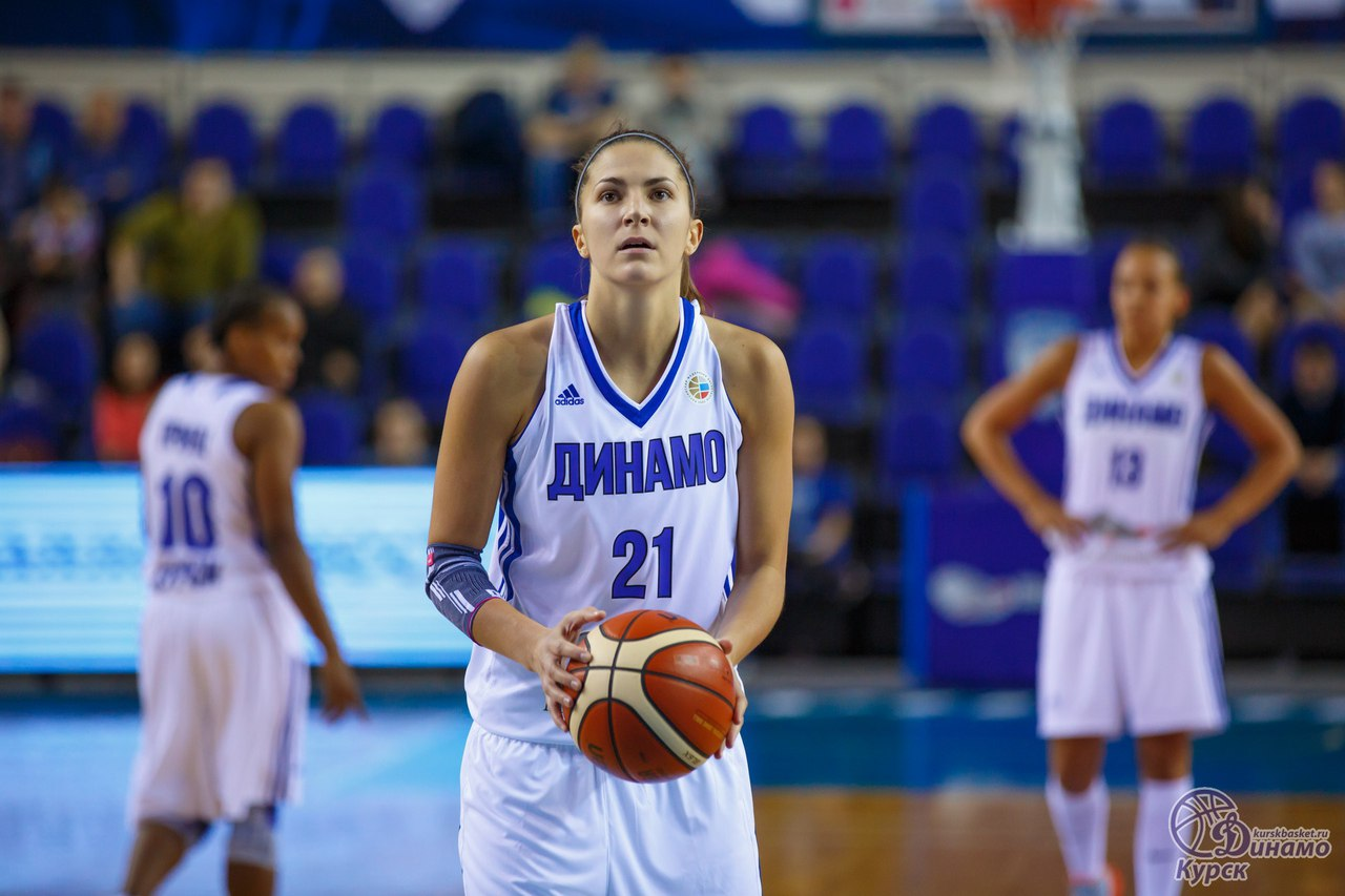 Баскетболистки курского «Динамо» обыграли столичных одноклубниц