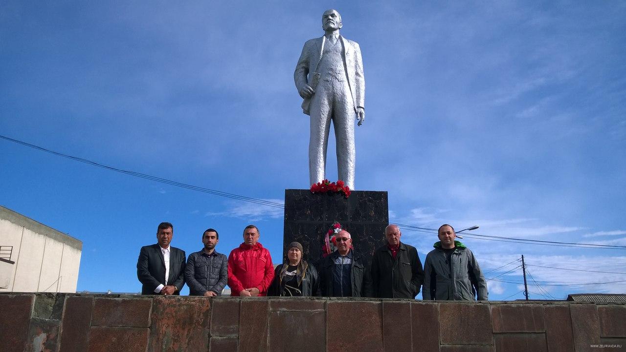 В Зеленчукском районе отметили день рождения Владимира Ленина