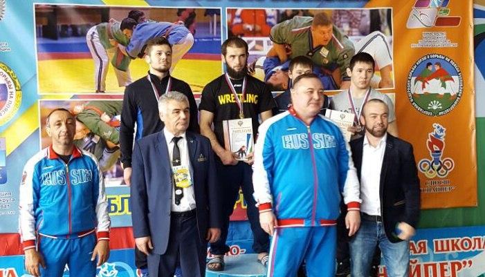 Спортсмены из Зеленчукского района призеры Кубка России по борьбе на поясах