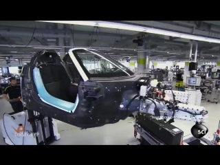 Как собирают Porsche 918 spyder