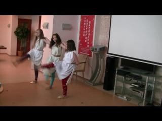 Выступление танец Сиртаки.