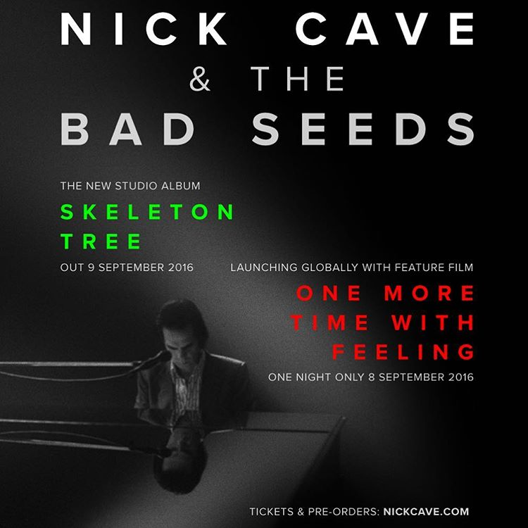 Новый альбом Nick Cave and the Bad Seeds - Skeleton Tree