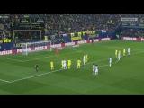 Вильярреал - Реал Мадрид, 2-1, судья назначает пенальти в ворота Вильярреала