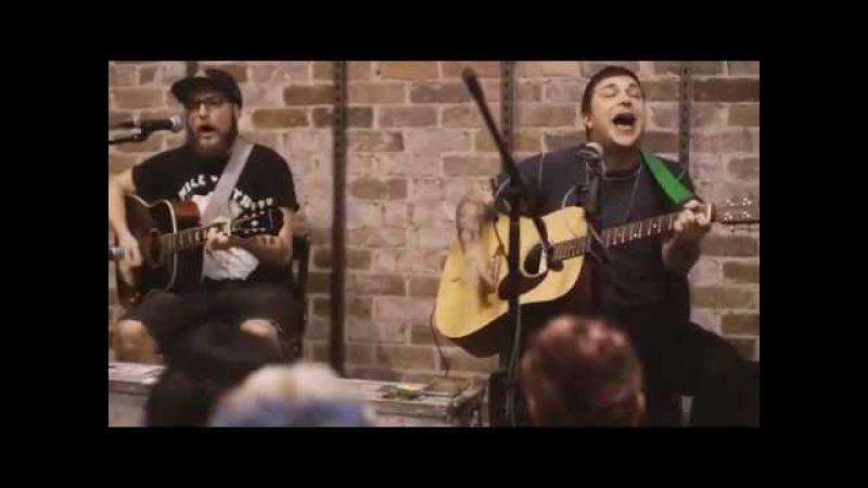 Frank Iero At Utopia Records 28th Jan 2016