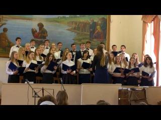 Взглянь на крест - молодежный хор церкви Вифлеем