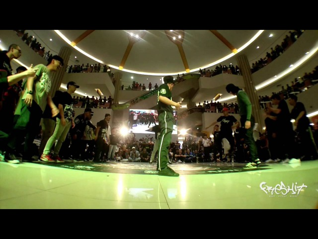Giller Battle vs The Immortalz / BOTY Malaysia 2016 - Crew Final/ Freshit Tv