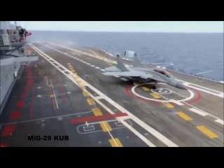 МИГ-29 ( палубный истребитель вертикального взлета и посадки )