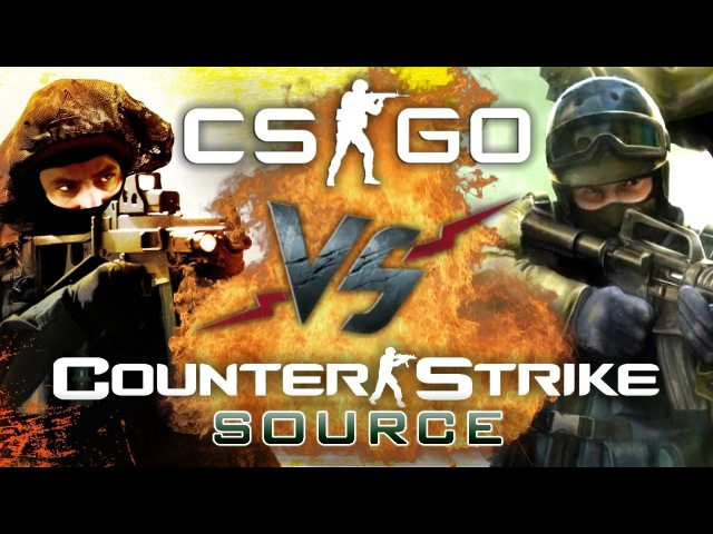 Рэп Баттл - Counter-Strike: Global Offensive vs. Counter-Strike: Source (CS:GO vs. CS:S)