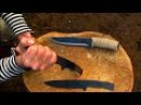 КАК СДЕЛАТЬ НОЖ ИЗ ПИЛЫ 9ХФ. Survival knife from an old saw How to make a bushcraft knife