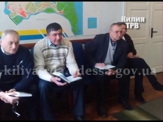 Нарада голови райдержадміністрації з міськими та сільськими головами.