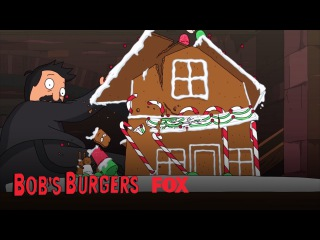 Gingerbread House Destruction   Season 7 Ep. 7   BOB'S BURGERS