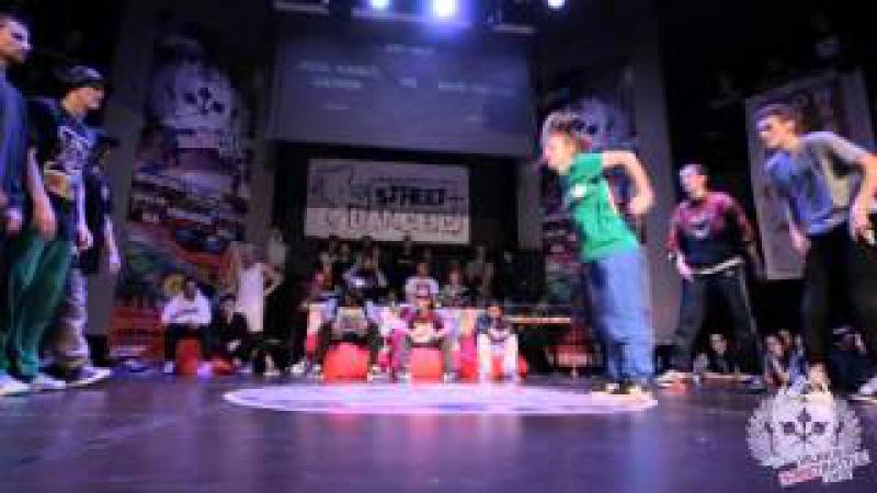 Hip Hop Final   Jeka Cadet Damien (Russia) vs Rave Mastaz (Latvia)   Vilnius Street Battle 2015