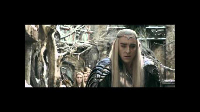 Гэндальф и Трандуил удалённая сцена из Хоббит Битва пяти воинств русская озв