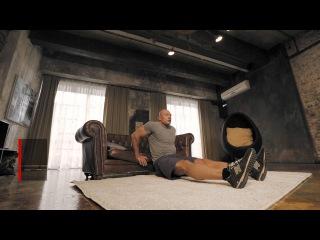 Отжимания на трицепс: диван вместо тренажер | Домашние тренировки с Денисом Семенихиным #1 jn;bvfybz yf nhbwtgc: lbdfy dvtcnj nh