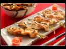 Как приготовить японский шашлык якитори из курицы, мастер класс шеф повара