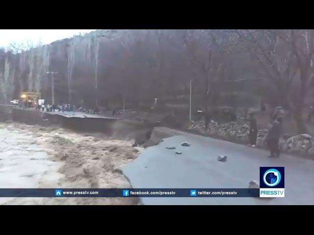 Watch massive flash floods washing away cars in northwestern Iran