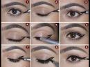 10 способов Как правильно рисовать стрелки на глазах поэтапно 2016 HD
