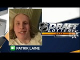 Patrik Laine Interview on NHL Draft Lottery 2016