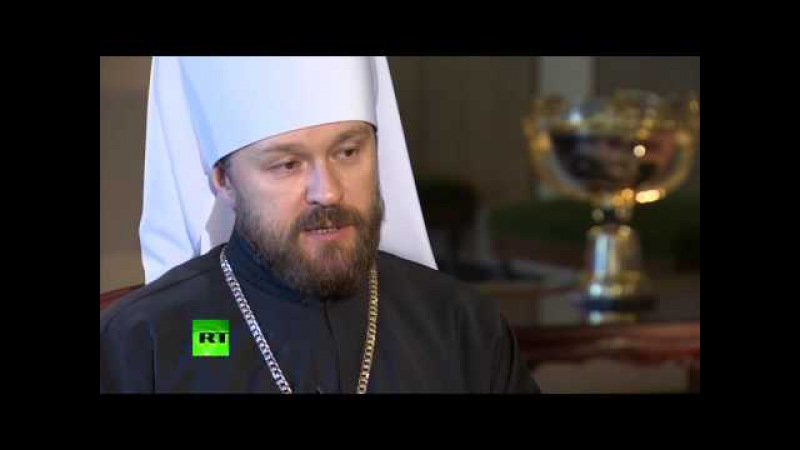Bishop Hilarion (Alfeyev) speaking English