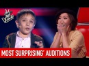 The Voice Kids | MOST SURPRISING Blind Auditions [PART 2]
