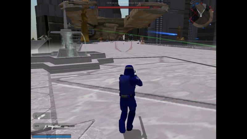 Star wars battlefront II coruscant invasion