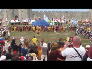 Битва Наций Russia vs USA по 21 бойцу