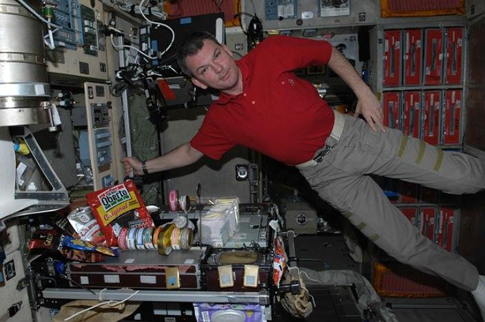 Космическое питание на МКС