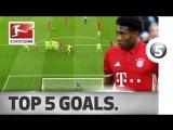 Чемпионат Германии 2016-17 / Лучшие голы 31-го тура / Топ-5 [HD 720p]