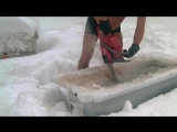 Как в норвегии чувак встретил снег