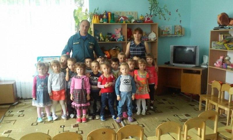 Дошколята села Курджиново узнали о правилах пожарной безопасности