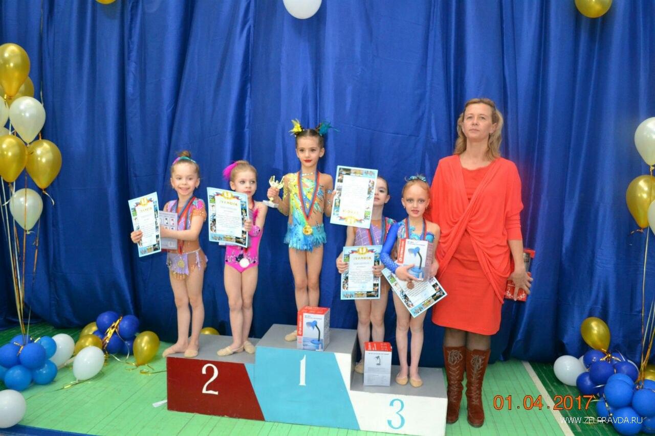 В Зеленчукском районе прошло открытое первенство по художественной гимнастике