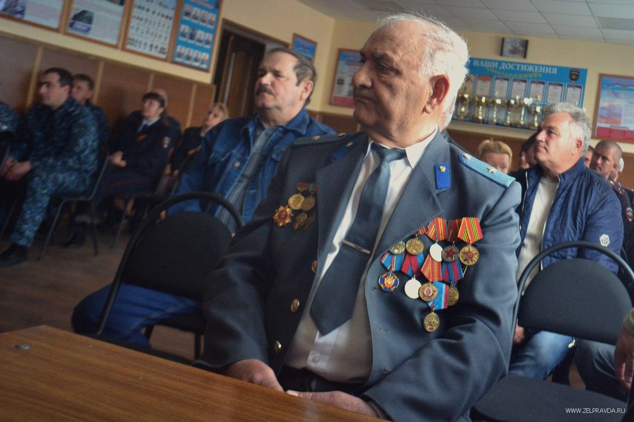 В Зеленчукском районе отметили День ветерана органов внутренних дел
