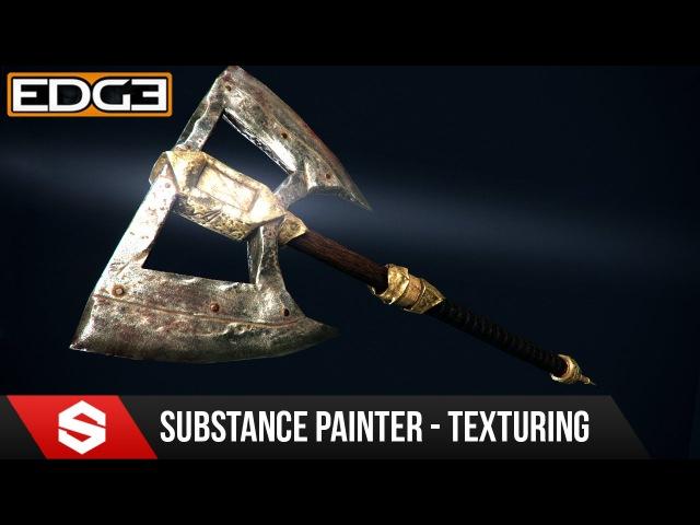 4 Game Axe Asset Creation Series Substance Painter Texturing HD