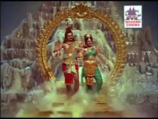 Thiruvarutchelvar (1967) -Final scene -Beautiful Dance by Shiva and Parvati !
