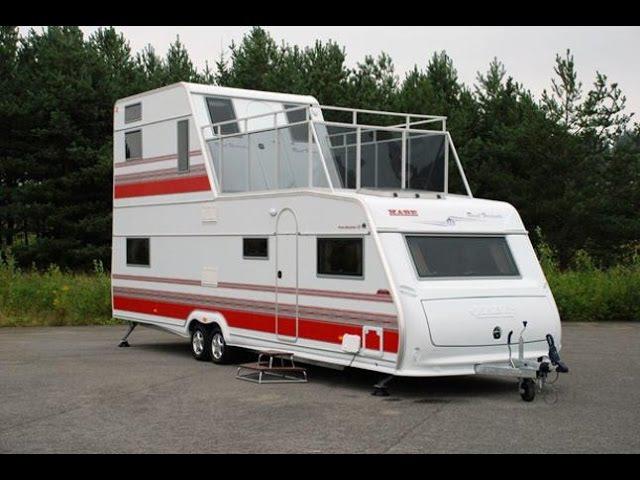 Дом на колесахThe Caravan Show (серия 5 - вождение, редкие фургоны, кемпинги АнглияИталия)
