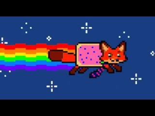 Nick Wilde Nyan Cat