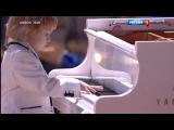 Синяя птица. Финал. Евгений Крылатов (рояль), Вахтанг (битбокс, рэп), Елисей Мысин (рояль).