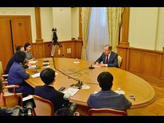 Интервью Министра иностранных дел России С.В.Лаврова СМИ Монголии, Японии и КНР в преддверии визитов в эти страны