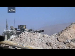 Army of Islam | moments of breathtaking: a confrontation between Assad's tanks and trenches of the Mujahideen.
