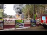 ▶ Пожар на Лебяжьем в Казани