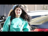Makeup Free Kylie Jenner And Tyga Hit The Movies In Her New Maybach
