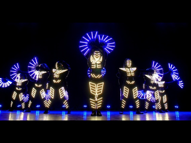 Show Jokers новый стиль светового шоу / absolutely new style of the light show 8 performers