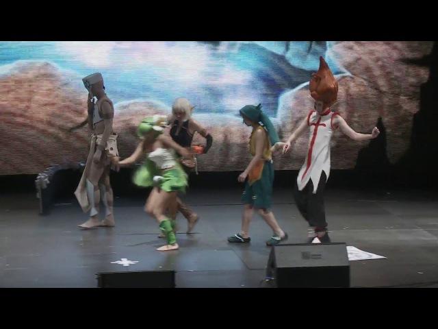 WAKFU - Косплей-сценка по мультсериалу Вакфу [Воронеж 2014]