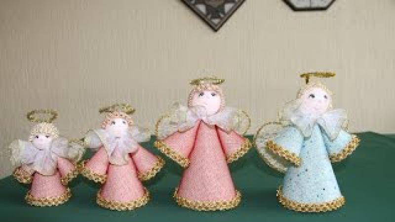 Cómo hacer unos ángeles decorativos