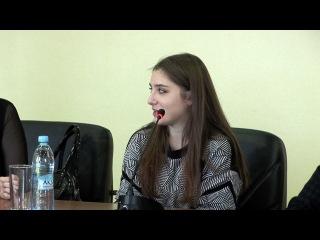 Алия Мустафина. Встреча со студентами РГУФКСМиТ