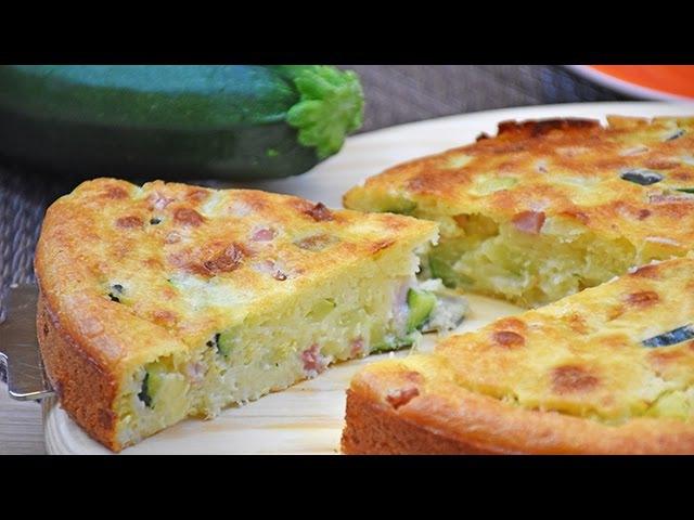Torta 7 vasetti salata con zucchine e scamorza - Ricetta di Fidelity Cucina